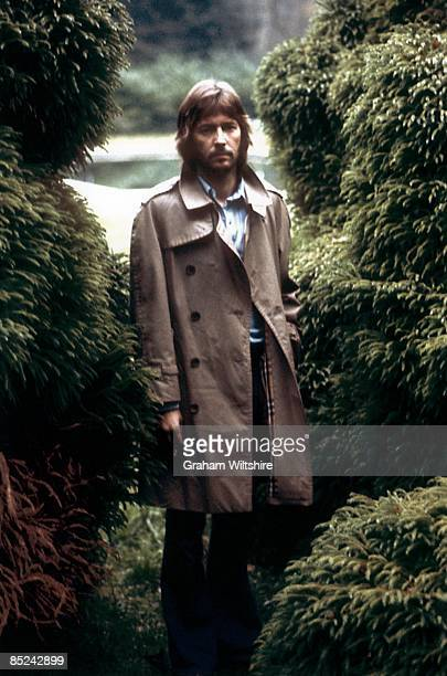 Photo of Eric CLAPTON posed at home in Ewhurst Surrey