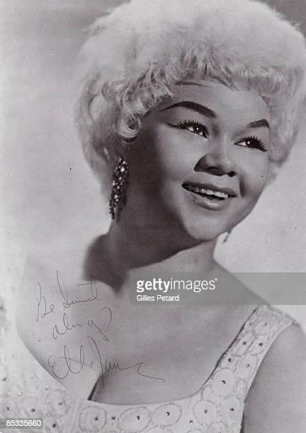 Photo of Etta JAMES Posed portrait of Etta James