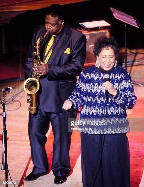 Photo of Etta JONES and Houston PERSON; w/ Etta Jones