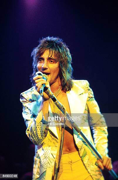 Photo of FACES and Rod STEWART with The Faces performing live onstage