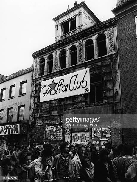Photo of FANS and STAR CLUB and VENUES and BEATLES Demolition of the Star Club The club opened 13th April 1962 Initially operated by Manfred...