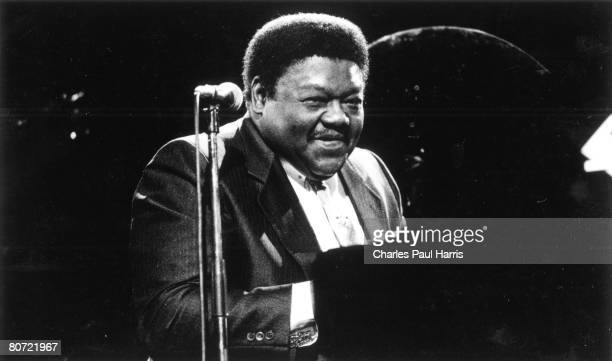 Photo of Fats Domino at the Hammersmith Odeon London 1992