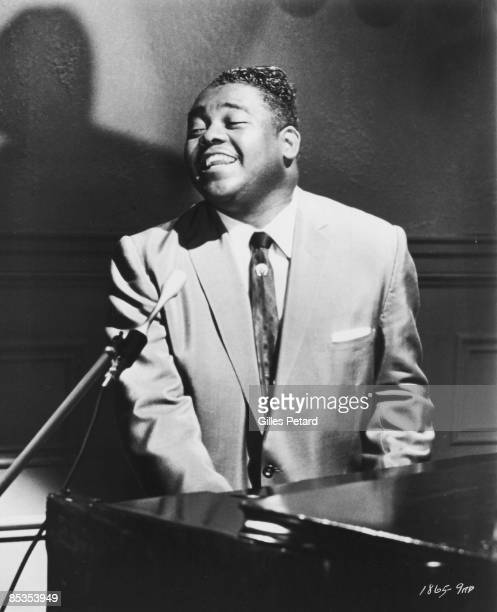 Photo of Fats DOMINO Fats Domino performing on stage