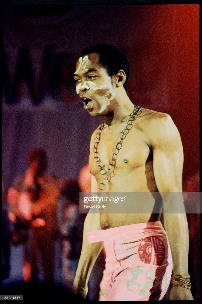 Photo of Fela KUTI, Fela Kuti live at The Academy, Brixton