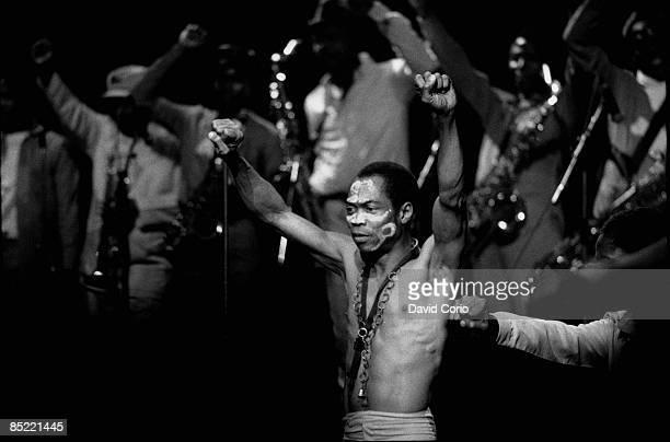 ACADEMY Photo of Fela KUTI Fela Kuti live at The Academy Brixton London 1983