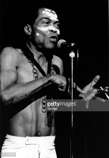 ACADEMY Photo of Fela KUTI Fela Kuti performing on stage