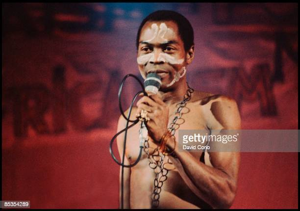 ACADEMY Photo of Fela KUTI performing live onstage