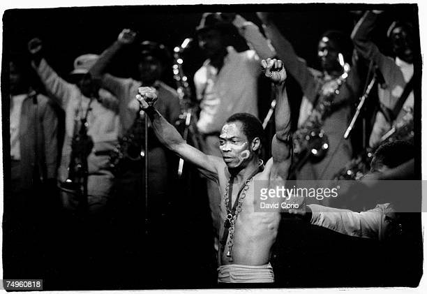 Photo of Fela Kuti