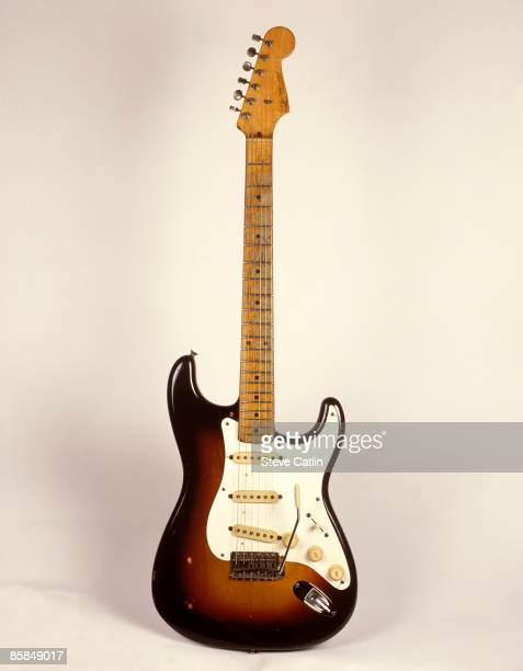 UNSPECIFIED CIRCA 2000 Photo of FENDER GUITARS and GUITAR and FENDER STRATOCASTER 1958 model [139] still life studio