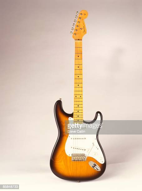 UNSPECIFIED CIRCA 2000 Photo of FENDER GUITARS and GUITAR and FENDER STRATOCASTER 40th Anniversary model [155] still life studio