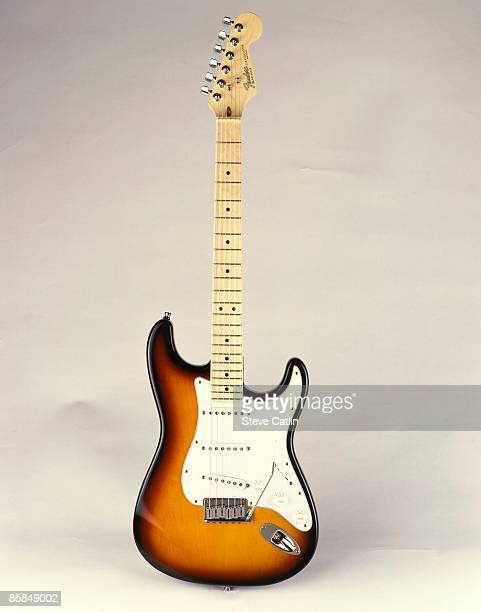 UNSPECIFIED CIRCA 2000 Photo of FENDER GUITARS and GUITAR and FENDER STRATOCASTER USA Standard model [147] still life studio