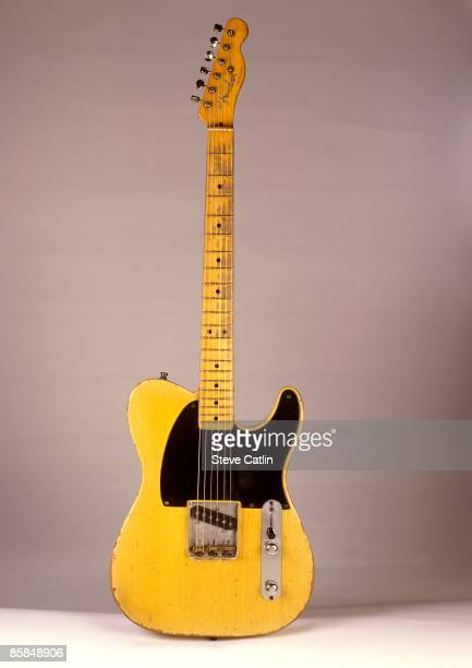 UNSPECIFIED CIRCA 2000 Photo of FENDER GUITARS and GUITAR and FENDER TELECASTER Esquire model 1952 model [161] still life studio