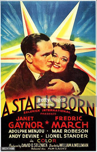 Photo of FILM POSTERS Film poster for A Star Is Born Fredric March Janet Graynor