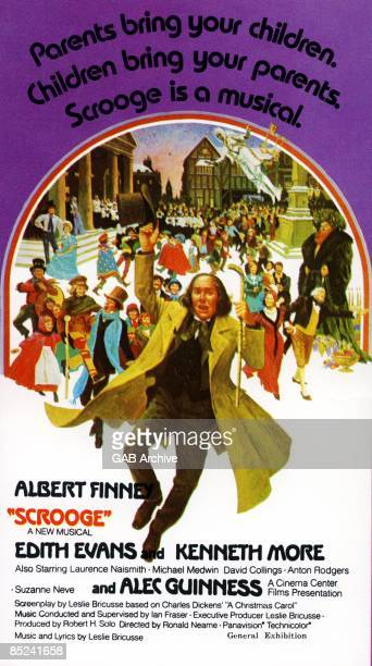 Photo of FILM POSTERS Film poster for Scrooge Albert Finney Edith Evans
