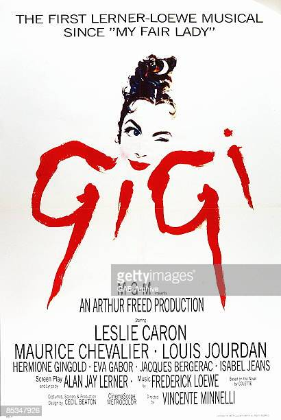 Photo of FILM POSTERS; Poster for Gigi