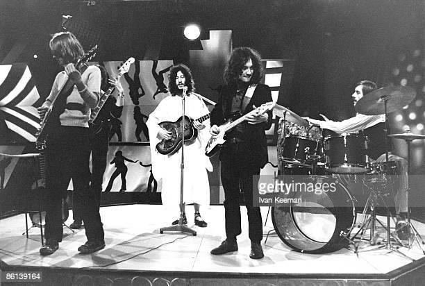 Danny Kirwan Peter Green Jeremy Spencer Mick Fleetwood performing on TV Show