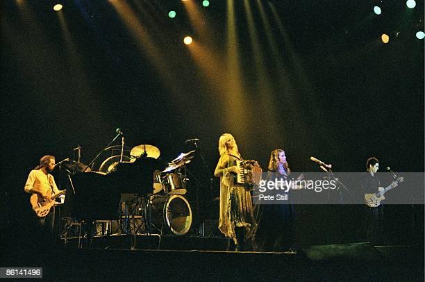 John McVie Christine McVie Stevie Nicks Lindsey Buckingham performing live onstage