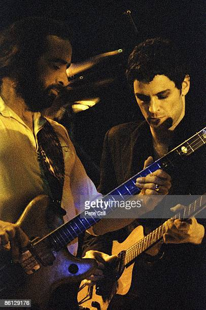 John McVie Lindsey Buckingham performing live onstage