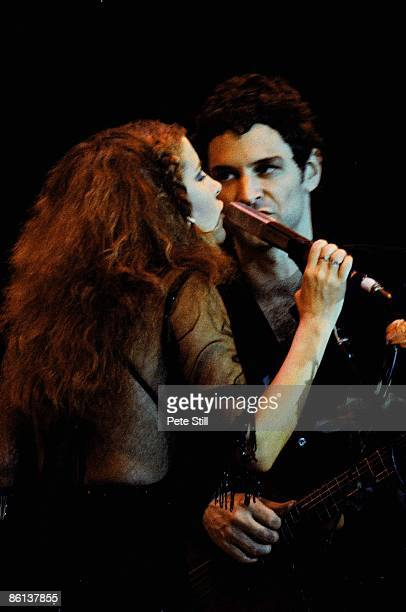 Stevie Nicks Lindsey Buckingham performing live onstage