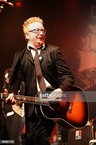 UNIVERSITY Photo of FLOGGING MOLLY and Dave KING Dave King performing on stage