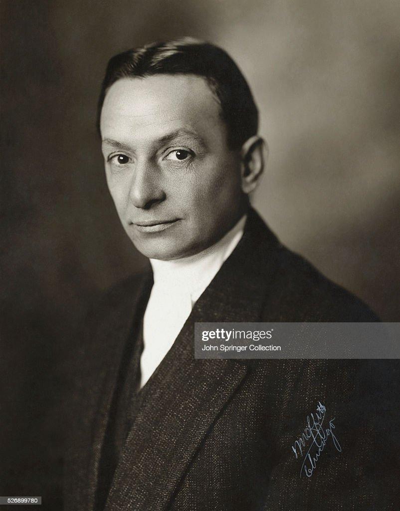 Florenz Ziegfeld, Theatrical Producer : News Photo