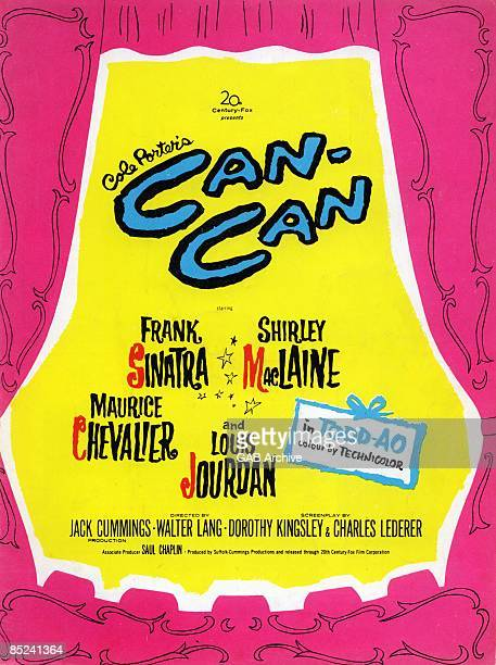 Photo of Frank SINATRA and FILM POSTERS Cole Poter's Can Can