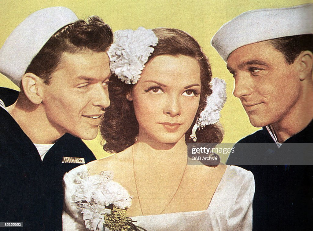 Photo of Frank SINATRA and Kathryn GRAYSON and Gene KELLY : News Photo