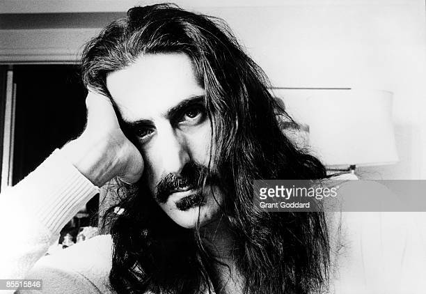Photo of Frank ZAPPA Posed portraoit of Frank Zappa