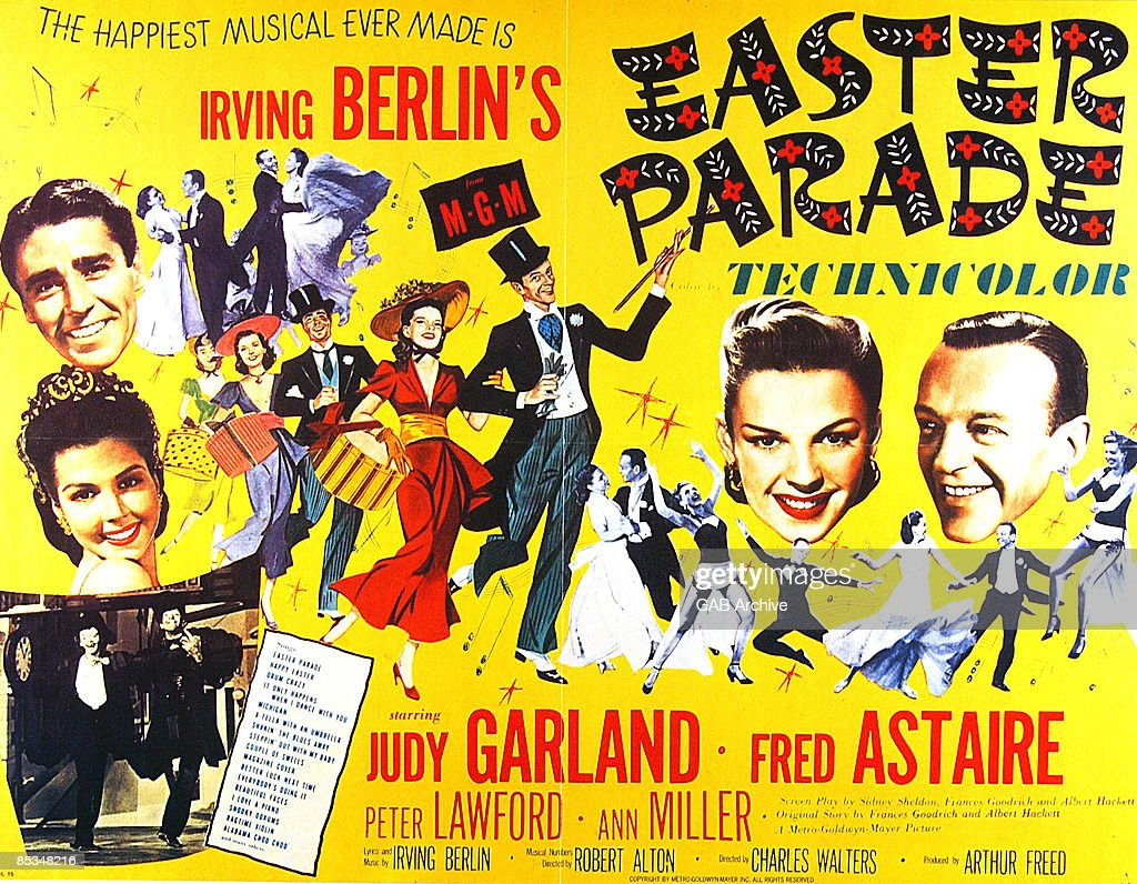 Photo of Fred ASTAIRE; Film poster for Easter Parade