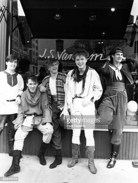 Photo of Gary KEMP and SPANDAU BALLET and Martin KEMP and Tony HADLEY LR John Keeble Martin Kemp Steve Norman Gary Kemp Tony Hadley