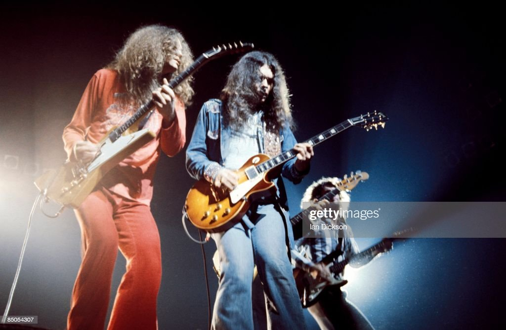 Photo of Gary ROSSINGTON and LYNYRD SKYNYRD and Allen COLLINS and Steve GAINES : News Photo