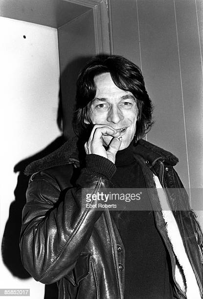 UNITED STATES JANUARY 01 Photo of Gene CLARK Portrait smoking a cigarette