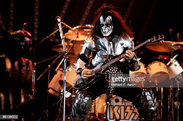 Photo of Gene SIMMONS and KISS Gene Simmons performing live onstage