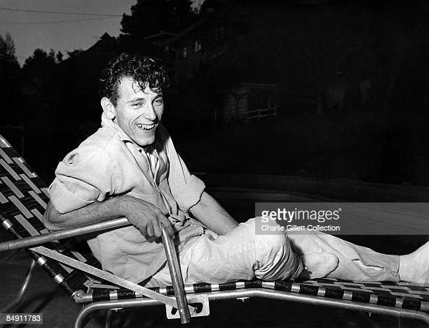 Photo of Gene VINCENT BW Posed