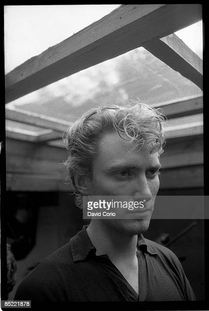Photo of Geordie WALKER and KILLING JOKE Geordie Walker in Camden Town London