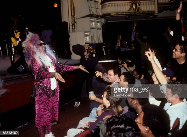 THEATER Photo of George Clinton George Clinton performing at the Apollo Theatre in New York City on November 24 1989