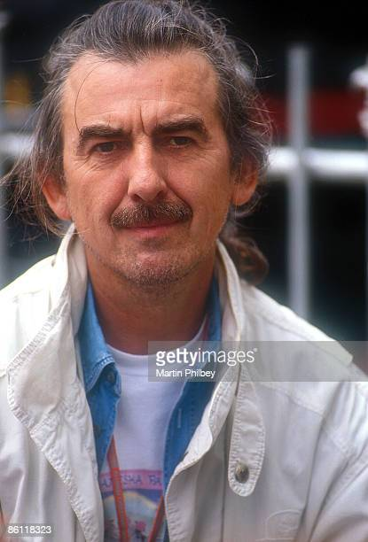 Photo of George HARRISON posed at Australian Grand Prix