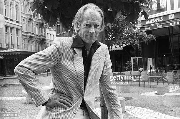 Photo of George MARTIN Posed portrait of producer George Martin
