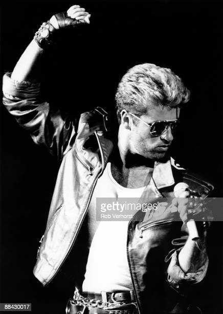 ROTTERDAM Photo of George MICHAEL George Michael performing on stage