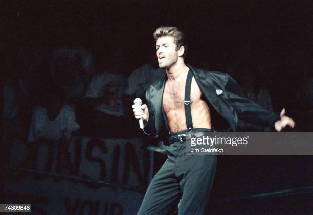 Photo of George Michael Photo by Jim Steinfeldt/Michael Ochs Archives/Getty Images