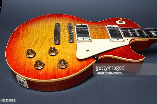 Photo of GIBSON GUITARS and GIBSON LES PAUL GUITAR and GUITAR and INSTRUMENTS 1959 Standard model still life studio