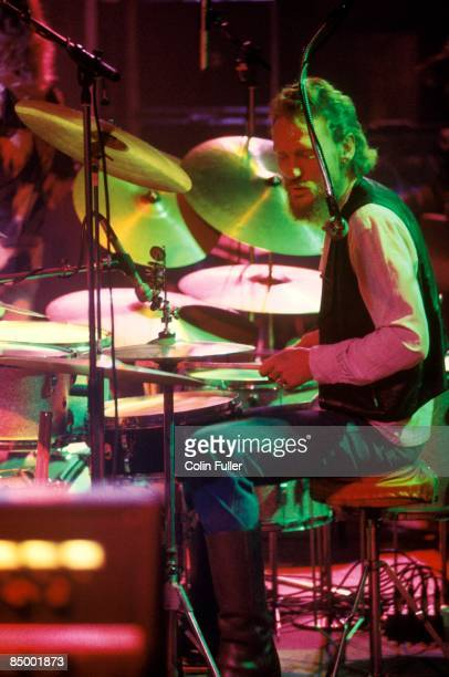 OLYMPIA Photo of Ginger BAKER w/BakerGurvitz army performing live onstage at 'Great British Music Festival'