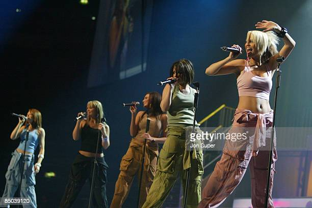 ARENA Photo of Girls Aloud Pepsi Silver Clef Concert Manchester Evening News Arena