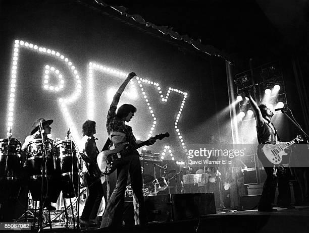 Photo of Gloria JONES and Mickey FINN and Marc BOLAN and T REX; Mickey Finn, Steve currie, Jack Green, Bobby Keys, Gloria Jones and Marc Bolan...