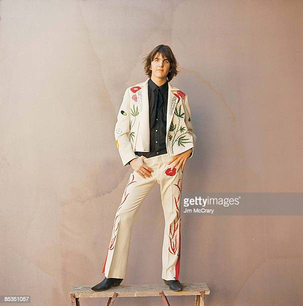 USA Photo of Gram PARSONS Posed portrait in Nudie suit