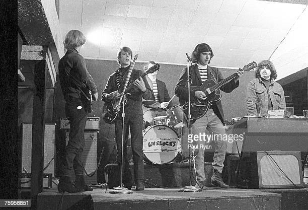 Photo of Grateful Dead when they started playing as the Warlocks