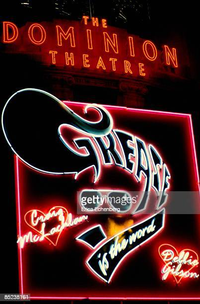DOMINION THEATRE Photo of GREASE Grease The Musical