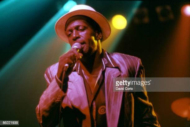 PLAZA Photo of Gregory ISAACS Gregory Isaacs at Irving Plaza NYC 91996