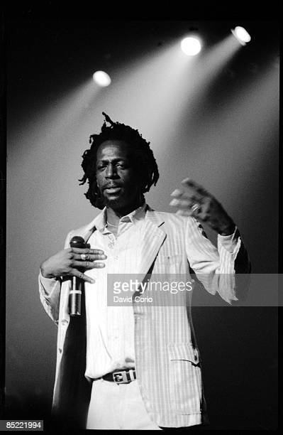 ACADEMY Photo of Gregory ISAACS Gregory Isaacs performing at Brixton Academy London UK on 5251984