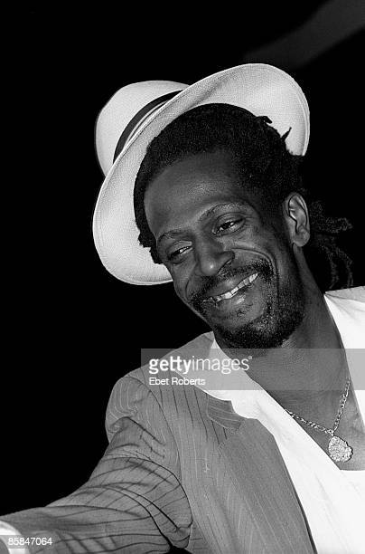 UNITED STATES JANUARY 01 Photo of Gregory ISAACS Gregory Isaacs performing at Radio City Music Hall on March 31 1985